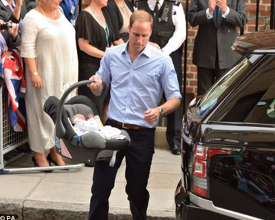 The Young Prince Prefers Britax B Safe
