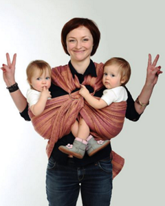 Double Ring Sling - baby carriers for twins