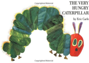 board books Very Hungry Caterpillar