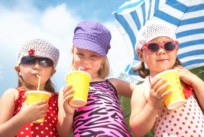 keeping cool: summertime-kids-outtro