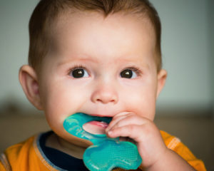 teething remedies - cold temperature