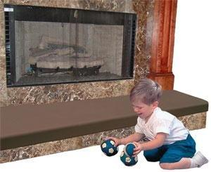 Fireplace Baby Proof - KidKushion Soft Seat