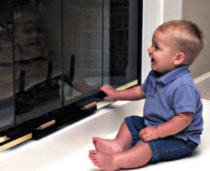 Fireplace Baby Proof - Fireplace Door Lock