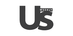 US Weekly logo logo black monochrome