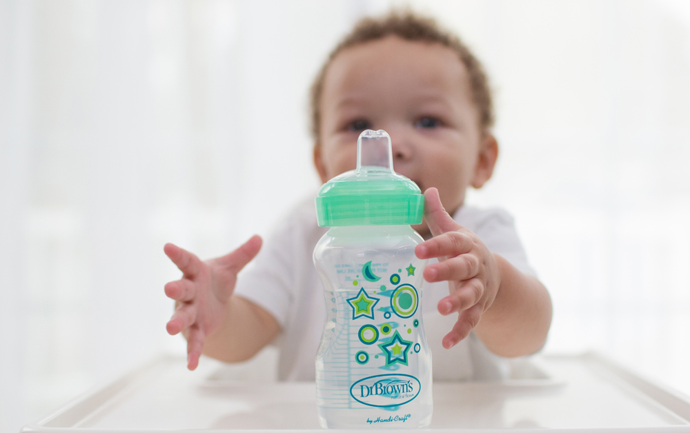 sippy cup transition